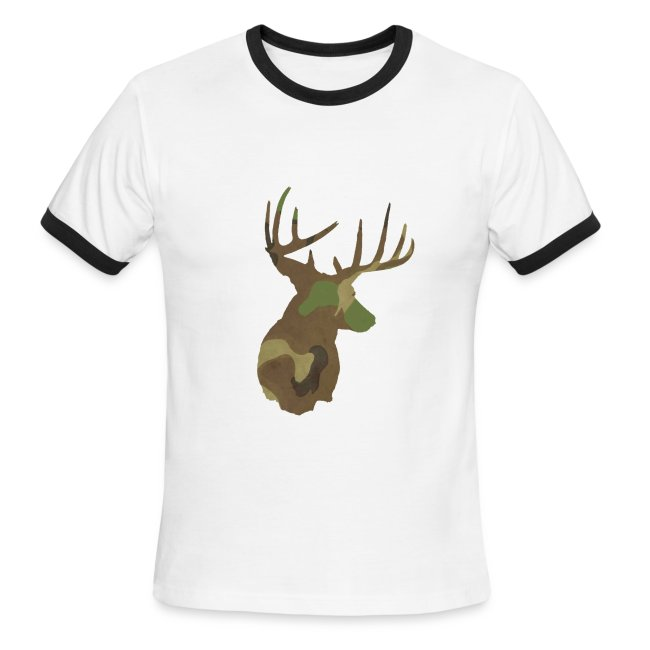 unnaturally common get bucked up mens ringer t shirt