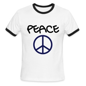 Peace T - Men's Ringer T-Shirt