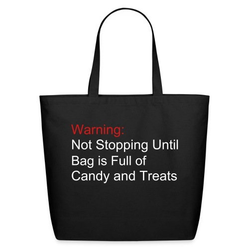 Candy Bag - Re-usable - Eco-Friendly Cotton Tote