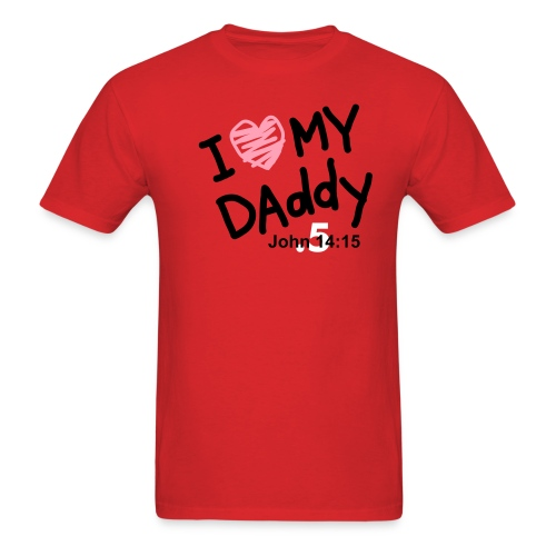 daddy t by .5 - Men's T-Shirt