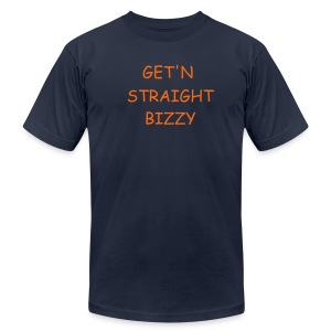 B-I-Z-Z-Y kind of busy - Men's Fine Jersey T-Shirt
