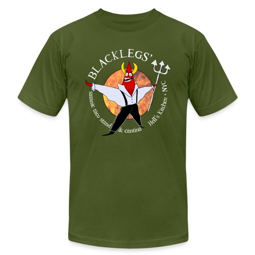 Satanic Taco Logo Tee - Men's Fine Jersey T-Shirt