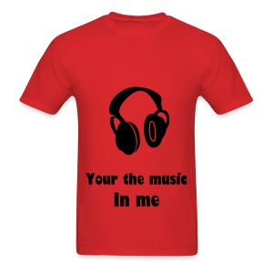 Music in ME  - Men's T-Shirt