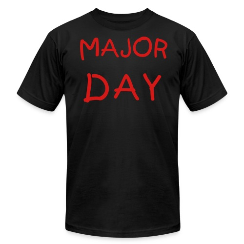 Major Day simple tee - Men's  Jersey T-Shirt