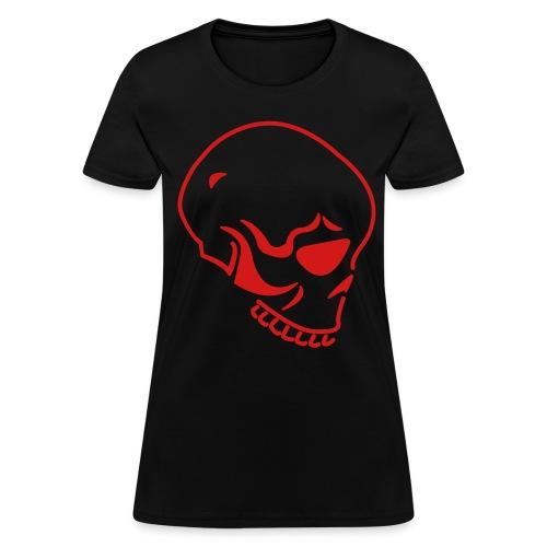 Womens Skull Tee - Women's T-Shirt