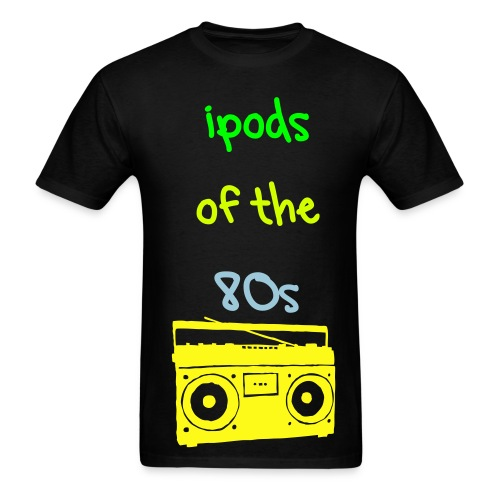 IPOD OF THE 80s - Men's T-Shirt