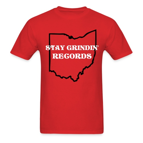 STAY GRINDIN' RECORDS  - Men's T-Shirt