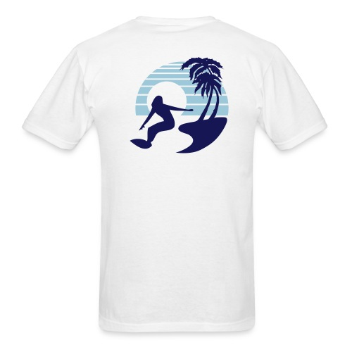 Windsurfers Paradise  - Men's T-Shirt