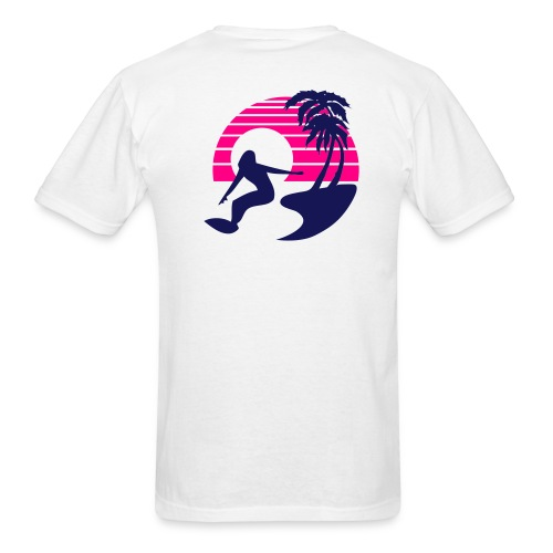 Windsurfers Paradise - Men's Lightweight cotton T-Shirt - Men's T-Shirt
