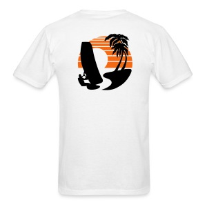 Wind Surfer - Men's Lightweight cotton T-Shirt - Men's T-Shirt
