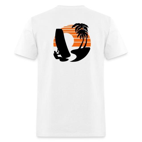 Wind Surfer - Men's Lightweight cotton T-Shirt - Men's T-Shirt