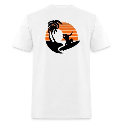 Big Wave Surfer - Men's Lightweight cotton T-Shirt - Men's T-Shirt