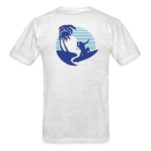 Big Wave Surfer - Men's Lightweight cotton T-Shirt - Men's T-Shirt