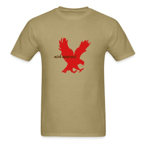 Eagle 'T' Tan - Men's T-Shirt
