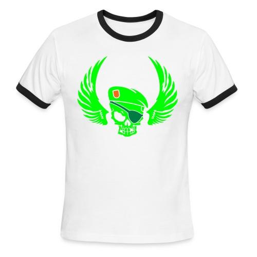 MILITARY SKULL - Men's Ringer T-Shirt