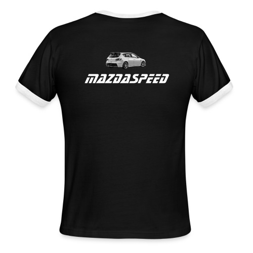 MS3 black/white - Men's Ringer T-Shirt