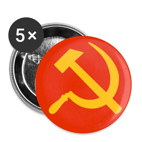 Hammer & Sickle Buttons - Small Buttons