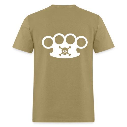 mens brass knuckle shirt - Men's T-Shirt