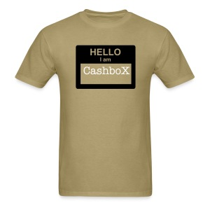 CashboX name tag tee - Men's T-Shirt
