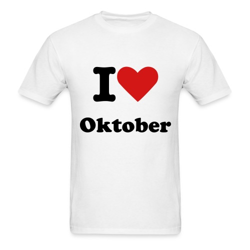 Oktober Schatten mens-tee - Men's T-Shirt