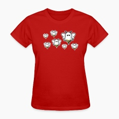 Ladies' Red Boo Bees T-Shirt