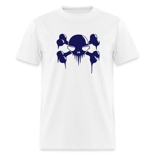 Bleeding Cross Bones - Men's Lightweight cotton T-Shirt - Men's T-Shirt