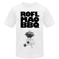 T-Shirts ~ Men's T-Shirt by American Apparel ~ ROFLMAOBBQ