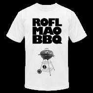 T-Shirts ~ Men's T-Shirt by American Apparel ~ ROFLMAOBBQ