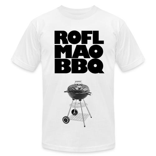 ROFLMAOBBQ - Men's Fine Jersey T-Shirt