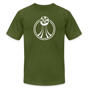 Spinners Designer T-shirt - Men's T-Shirt by American Apparel