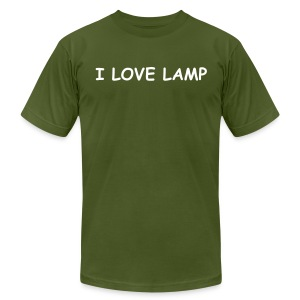 I LOVE LAMP - Men's Fine Jersey T-Shirt