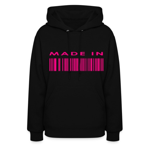 Made In ( customizable ) - Women's Hoodie