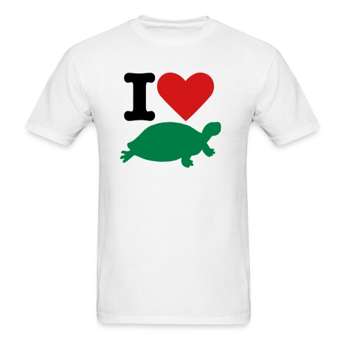 Turtle Love - Men's T-Shirt