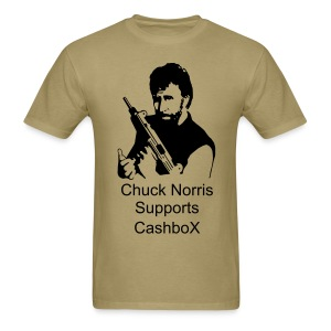 CashboX Chuck Norris tee - Men's T-Shirt