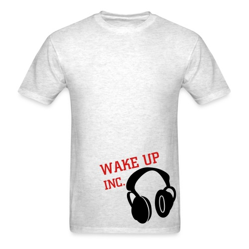 wake to music - Men's T-Shirt