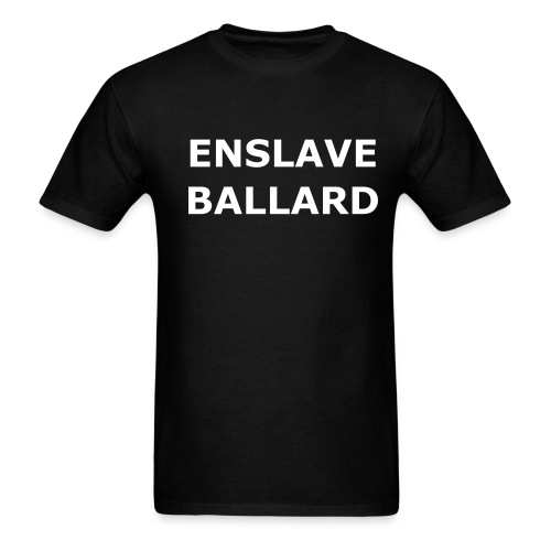 ENSLAVE BALLARD Lightweight Mens Tee - Men's T-Shirt