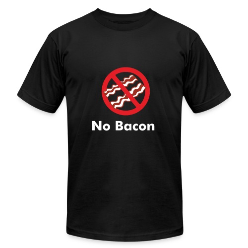 No Bacon - Men's  Jersey T-Shirt