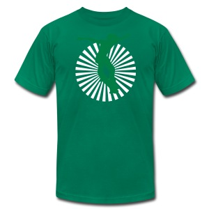 Mens Skater Drop in Halfpipe T-shirt - Men's T-Shirt by American Apparel