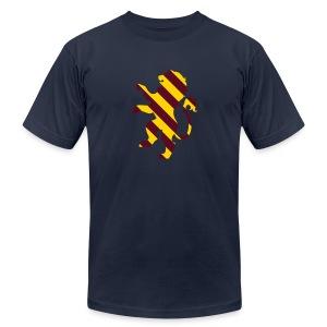 Mens Royale w/Cheese Lion Design - Men's Fine Jersey T-Shirt