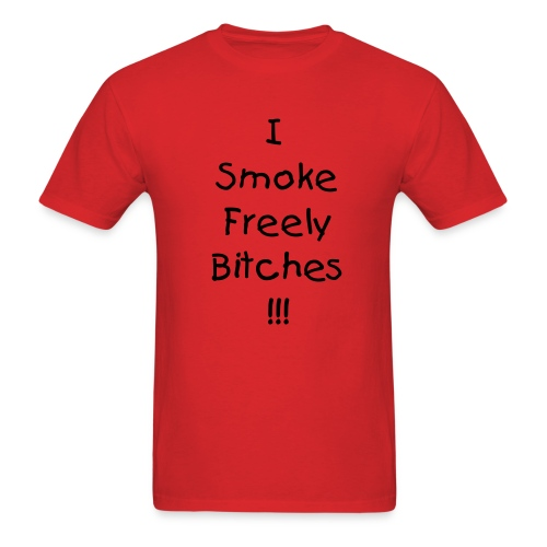 Smokin Freely - Men's T-Shirt