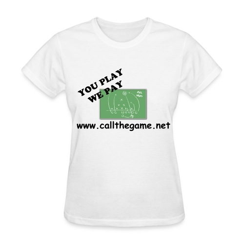CTG Women's Lightweight T-Shirt (White, Hail Mary) - Women's T-Shirt