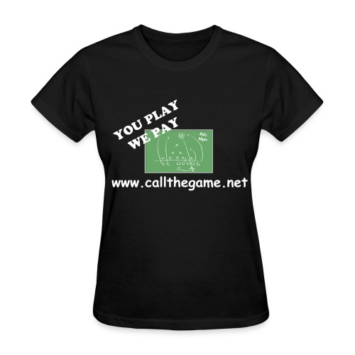 CTG Women's Lightweight T-Shirt (Black, Hail Mary) - Women's T-Shirt