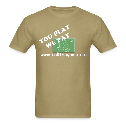 CTG Men's Lightweight T-Shirt (Khaki, Hail Mary) - Men's T-Shirt