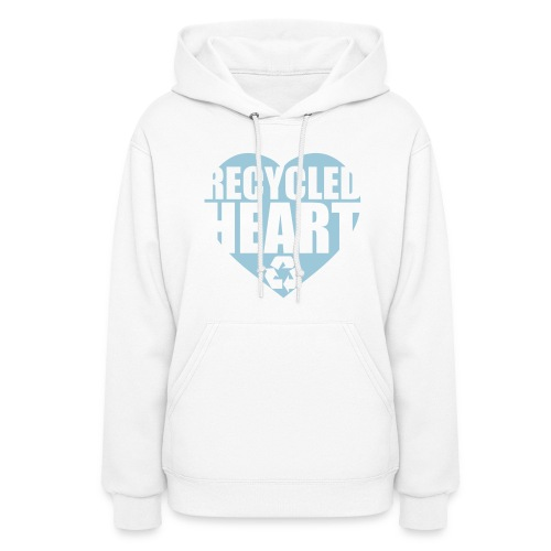 Recycled Heart Sweatshirt - Women's Hoodie