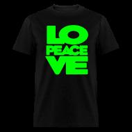 T-Shirts ~ Men's T-Shirt ~ Love = Peace