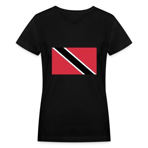 Trinidad - Women's V-Neck T-Shirt