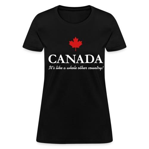 canada - Women's T-Shirt