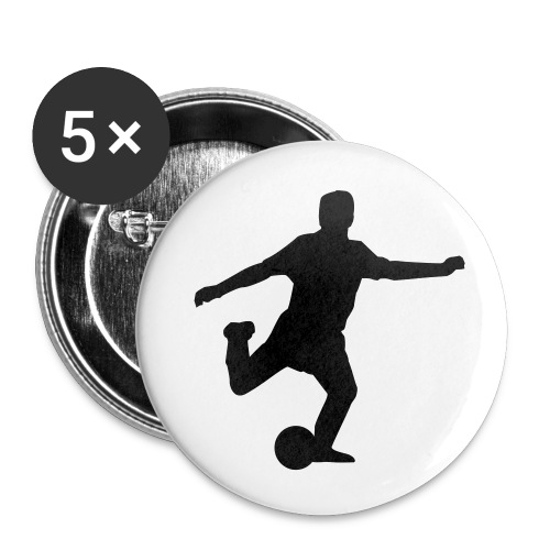 Small Football Badges - Small Buttons