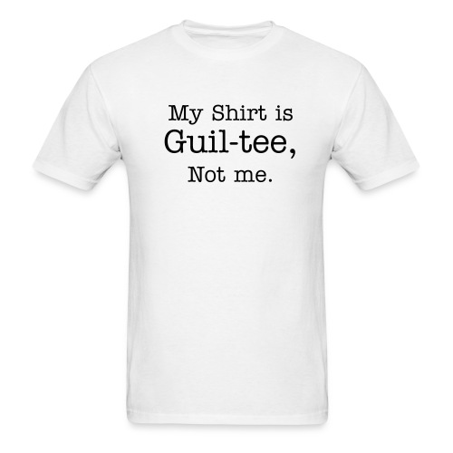 Guil-tee - Men's T-Shirt