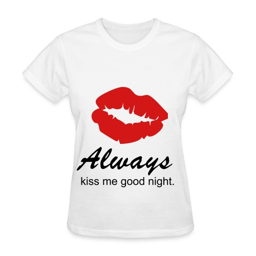 good night kissy - Women's T-Shirt